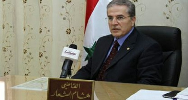 وزير العدل هشام الشعار(إنترنت)