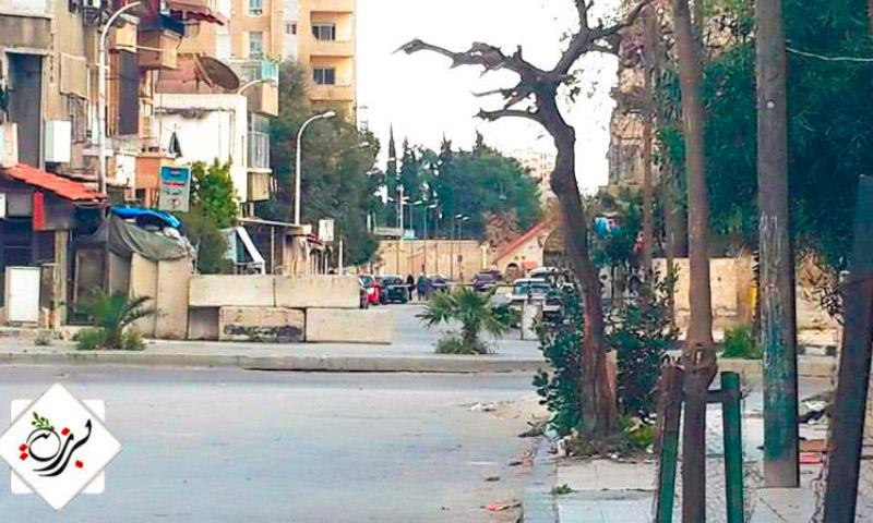 حي برزة بدمشق - الأربعاء 16 آذار 2016 (تنسيقية حي برزة).