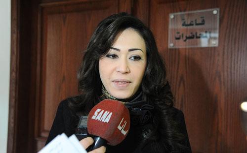 وزيرة التنمية الإدارية سلام سفاف (إنترنت)