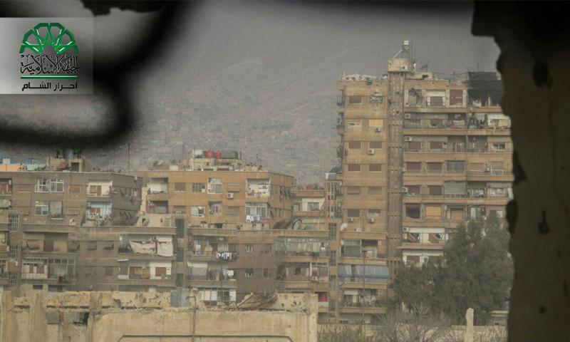 رصد شارع فارس خوري في العاصمة دمشق - 20 آذار 2017 (أحرار الشام)