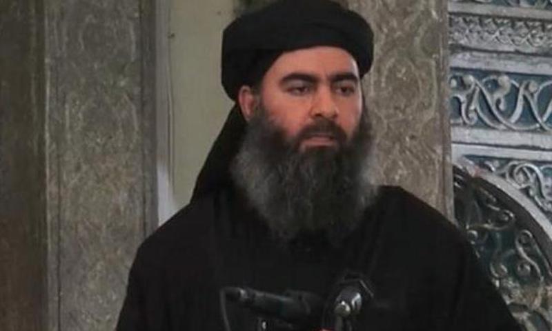 """أبو بكر البغدادي زعيم تنظيم """"الدولة"""""""