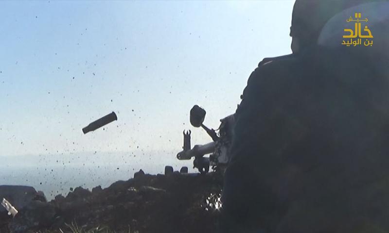 تعبيرية: معارك ريف درعا الغربي - شباط 2017 (جيش خالد بن الوليد)