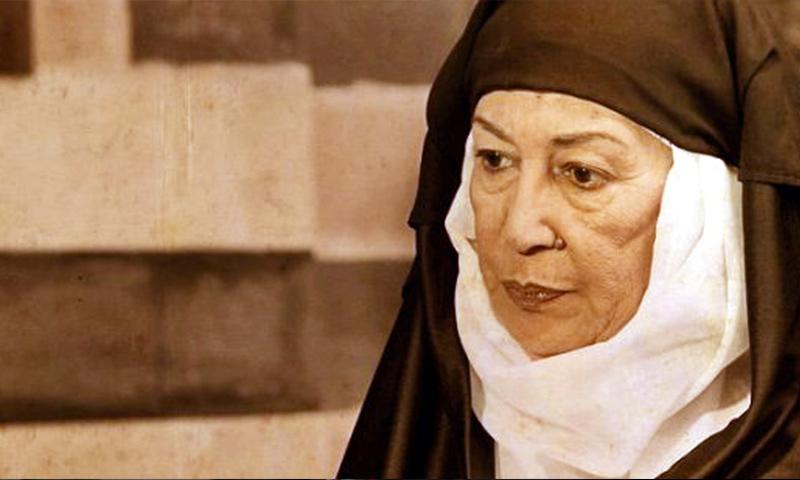 الممثلة السورية منى واصف