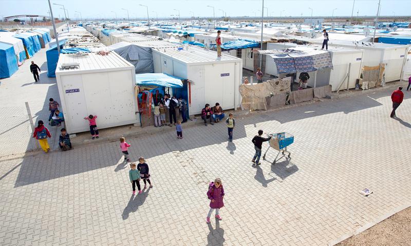 مخيم نيزب في تركيا (إنترنت)
