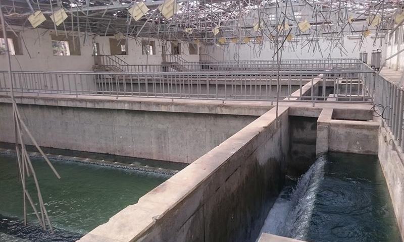 """أرشيفية- محطة مياه """"سليمان الحلبي"""" في مدينة حلب (فيس بوك)"""