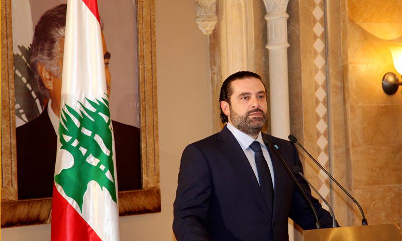 رئيس الحكومة اللبنانية، سعد الحريري (إنترنت)