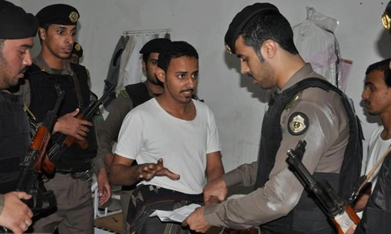 تعبيرية: أمن وشرطة الترحيل السعودية (إنترنت)