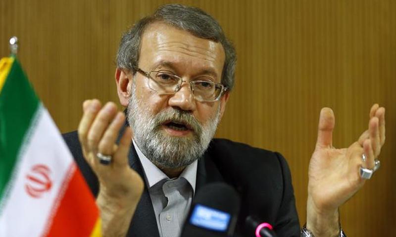 رئيس مجلس الشورى الإسلامي الإيراني ، علي لاريجاني-(انترنت)