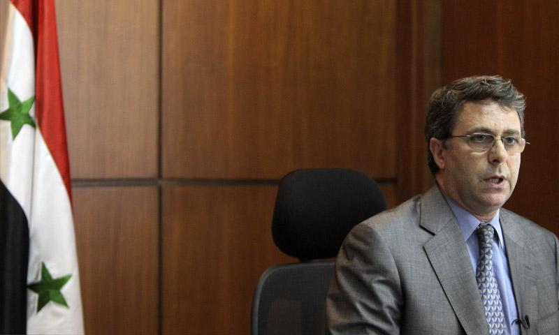 وزير الاقتصاد وحاكم مصرف سوريا المركزي السابق، أديب ميالة (إنترنت)