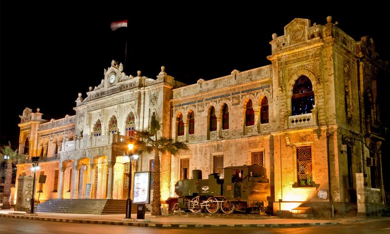 محطة الحجاز في دمشق - (انترنت)