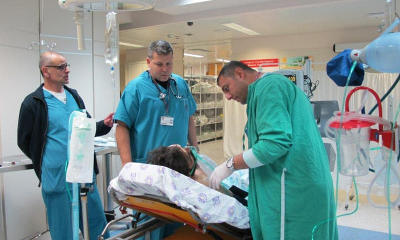 مشفى إسرائيلي داخل الأراضي المحتلة- 15 آذار- (انترنت)