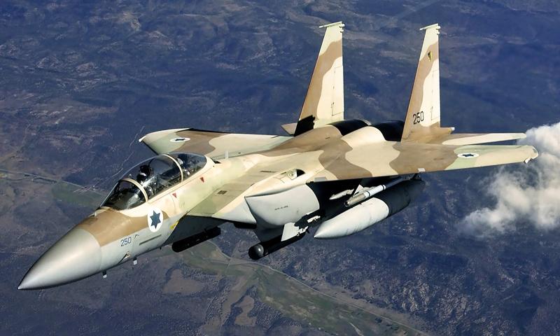 طائرة تابعة لسلاح الجو الإسرائيلي - (انترنت)