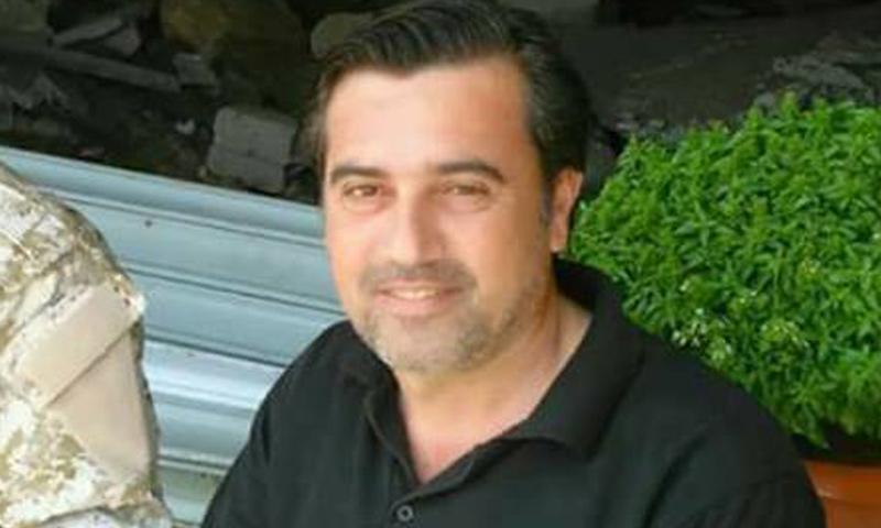 العميد الركن شريف طاهر رسلان قتل في دمشق- 20 آذار 2017 (فيس بوك)