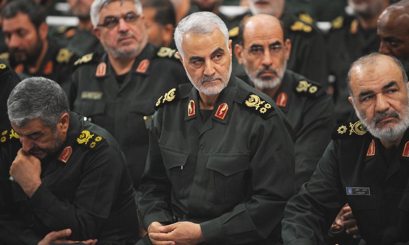 """الجنرال قاسم سليماني قائد """"فيلق القدس"""" في """"الحرس الثوري"""" الإيراني"""
