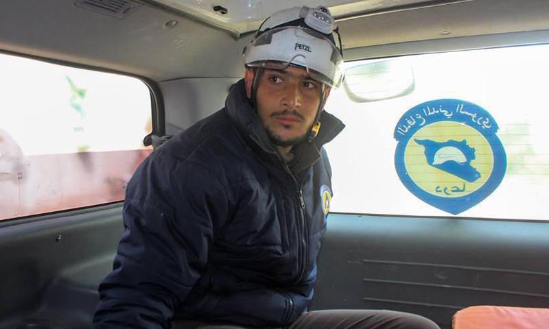 الشاب علاء أبازيد توفي متأثرًا بجراحه في درعا- الاثنين 27 آذار (الدفاع المدني)