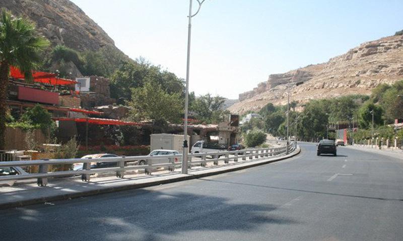 أرشيفية- منطقة الربوة في ضواحي دمشق
