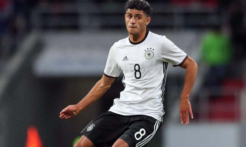 اللاعب الألماني سوري الأصل محمود داوود (وكالات)