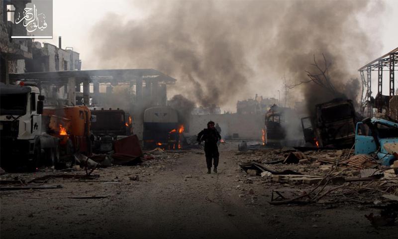من معارك دمشق - 19 آذار 2017 (فيلق الرحمن)
