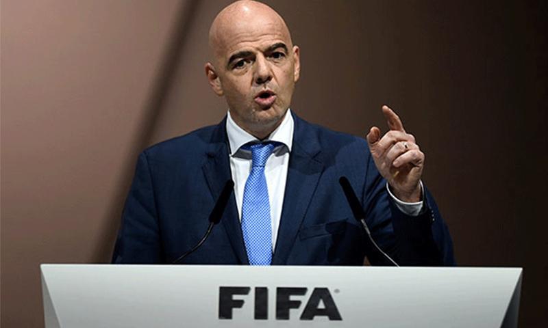 رئيس الاتحاد الدولي لكرة القدم (فيفا) جياني انفانتينو - (انترنت)
