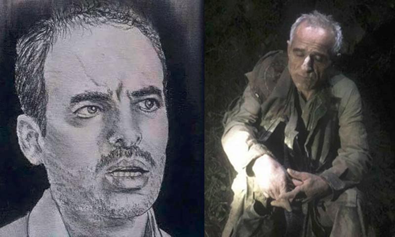 المقدم حسين هرموش (يمين الصورة، وطيار النظام السوري محمد صوفان يمينها (تعديل عنب بلدي)