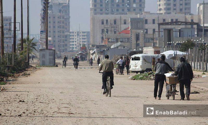 حي الوعر في مدينة حمص 5 آذار (عنب بلدي)