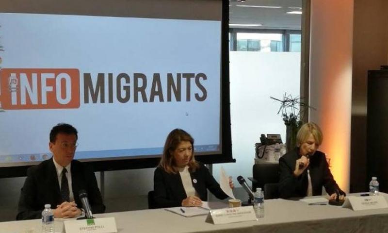 """ندوة صحفية أوروبية في باريس لإطلاق موقع """"مهاجر نيوز"""" - الخميس 30 آذار - (انترنت)"""
