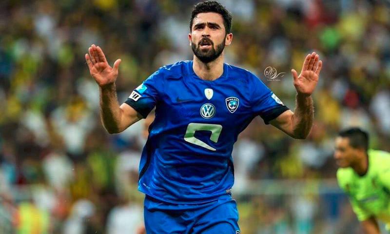 اللاعب السوري عمر خريبين (تويتر)