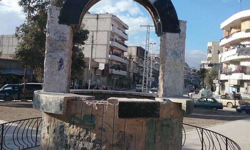 أرشيفية- أحد أحياء مدينة منبج في ريف حلب الشرقي (فيس بوك)