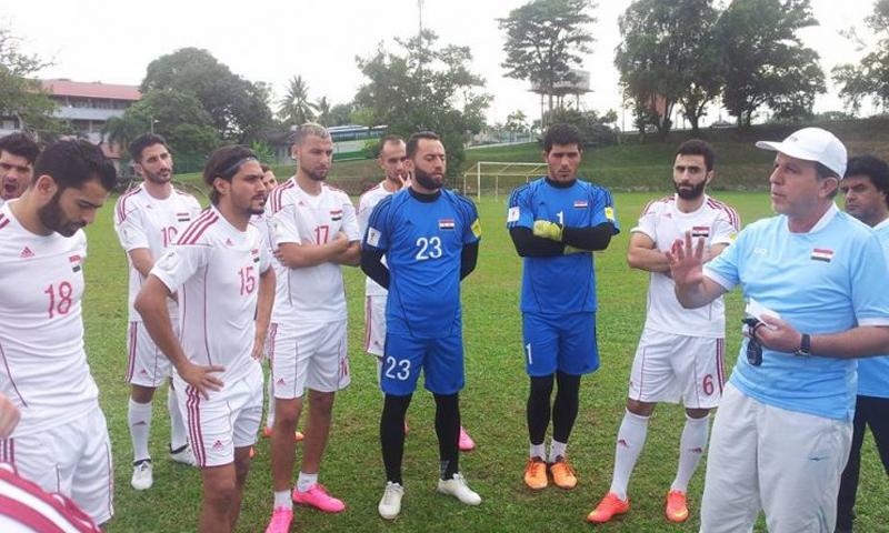 تدريبات المنتخب السوري في ماليزيا (انترنت)
