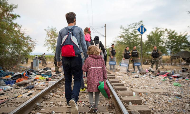 لاجئ سوري في اليونان (تعبيرية)