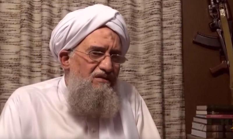 زعيم تنظيم القاعدة، أيمن الظواهري.