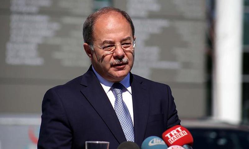 وزير الصحة التركي رجب أك داغ (CNN Türk)