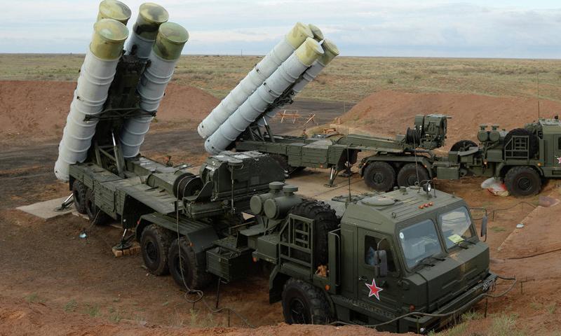 منظومة الدفاع الروسية S400-(انترنت)