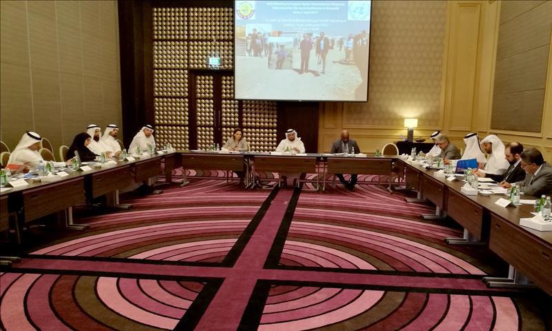 اجتماع المنظمات المدنية في العاصمة القطرية - 2 نيسان 2017 - (الأناضول)