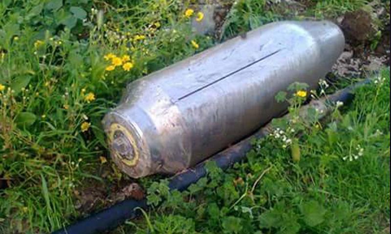 أجزاء من صواريخ التوماهوك سقطت في مدينة طرطوس- 7 نيسان-(صفحات موالية)