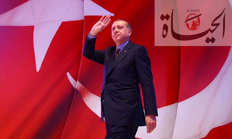 الرئيس التركي، رجب طيب أردوغان (تعديل عنب بلدي)