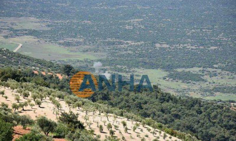 قصف مدفعي تركي على قرى تابعة لمنطقة عفرين في ريف حلب- الأربعاء 26 نيسان (ANHA)