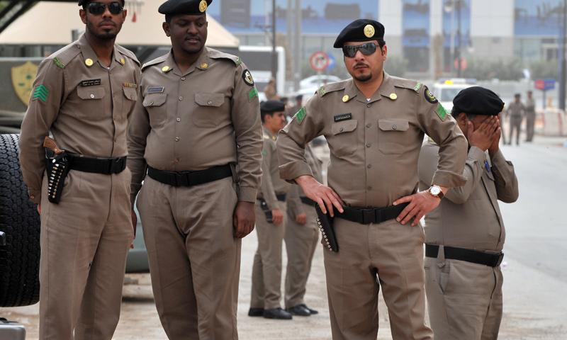 أفراد من الأمن السعودي (GETTY)