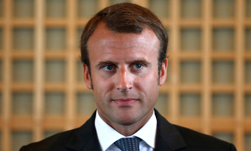 الرئيس الفرنسي إيمانويل ماكرون (وكالات)