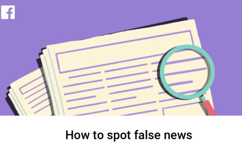 """""""فيس بوك"""" يتيح ميزة كشف الأخبار الكاذبة - (انترنت)"""