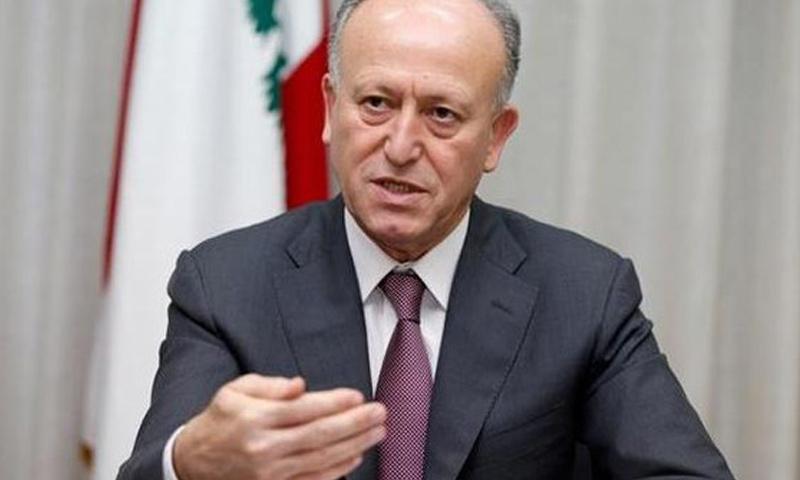 وزير العدل اللبناني السابق، أشرف ريفي (انترنت)