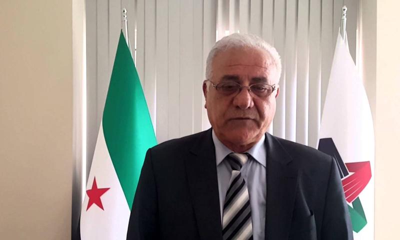فؤاد عليكو عضو الهيئة العليا للمفاوضات (يوتيوب)