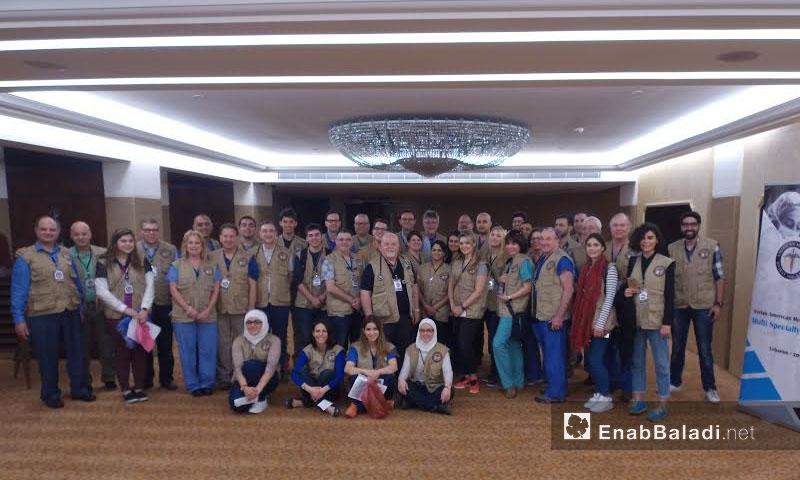 """متطوعو """"SAMS"""" في لبنان - 23 نيسان 2017 (عنب بلدي)"""