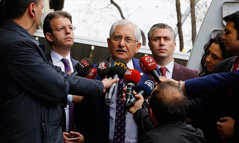 رئيس الهيئة الدستورية التركية العليا، سعدي غوفان (NTV)