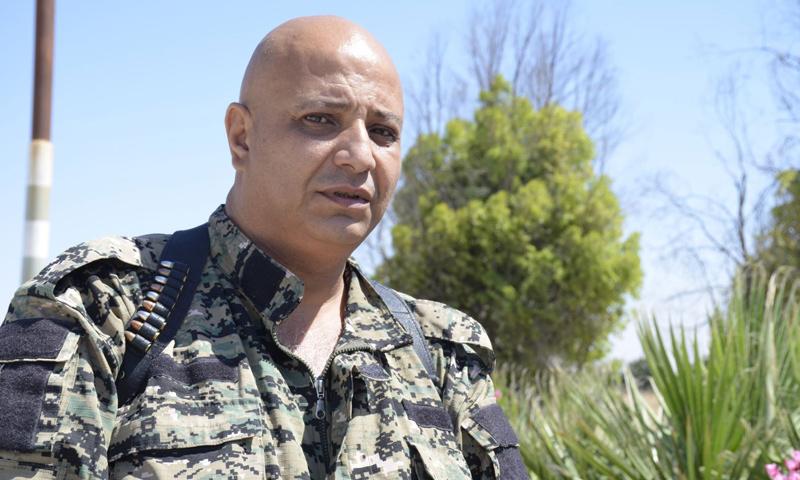 """طلال سلو- المتحدث باسم """"قوات سوريا الديمقراطية"""" (وكالات)"""
