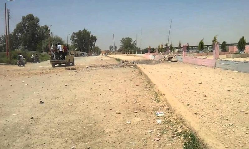 مدينة البوكمال شرق سوريا- (انترنت)