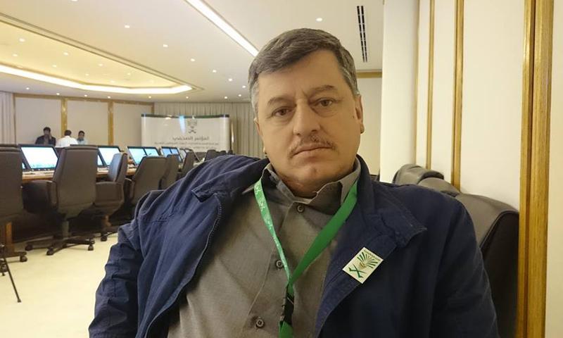 الصحفي حسان الحسون (فيس بوك)