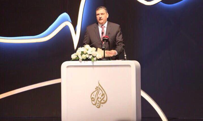الدكتور رياض حجاب المنسق العام للهيئة العليا للمفاوضات- السبت 15 نيسان (الائتلاف)