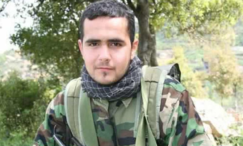 """يوسف منير خازم- مقاتل في """"حزب الله"""" قتل في ريف حلب الجنوبي (وكالات)"""