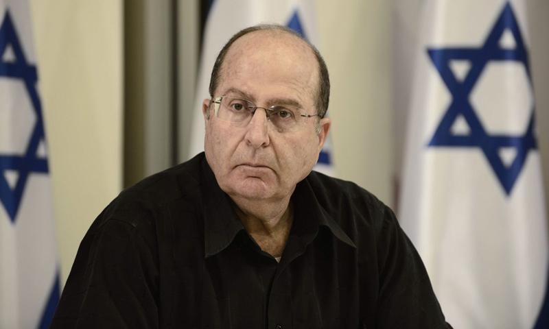 موشيه يعلون- وزير الدفاع الإسرائيلي السابق (وكالات)